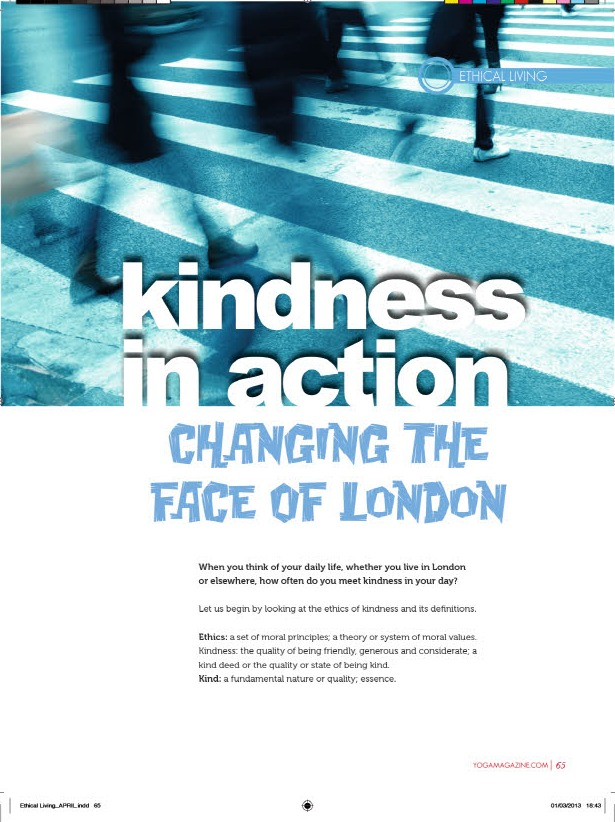 Kindness In Action 1